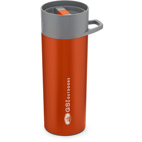 GSI Glacier Stainless Commuter Java Press, orange